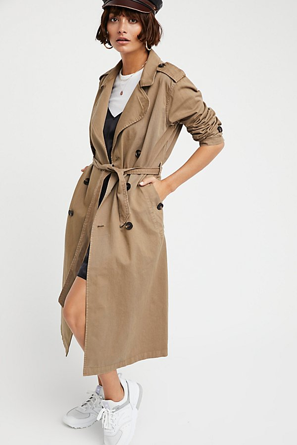 Slide View 2: Dorian Trench Coat