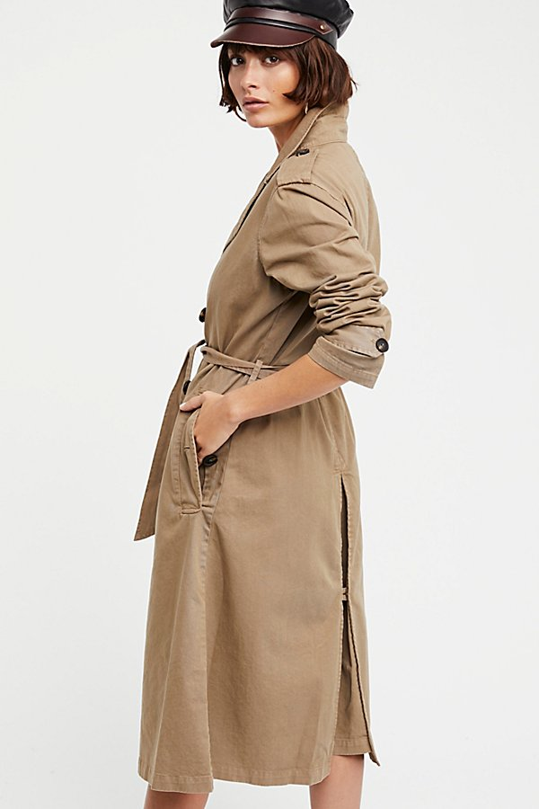 Slide View 3: Dorian Trench Coat