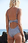 Thumbnail View 3: Gingham Sophea One-Piece Swimsuit