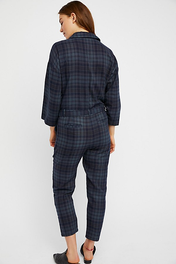 Slide View 2: Piper Plaid One-Piece