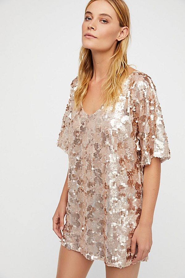 Slide View 4: Sequin T-Shirt Dress
