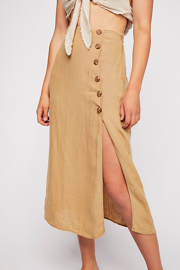 Slide View 4: Roman Holiday Midi Skirt