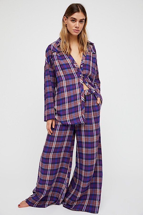Slide View 1: Plaid On Plaid Trouser