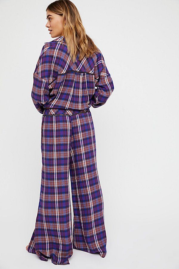 Slide View 2: Plaid On Plaid Trouser