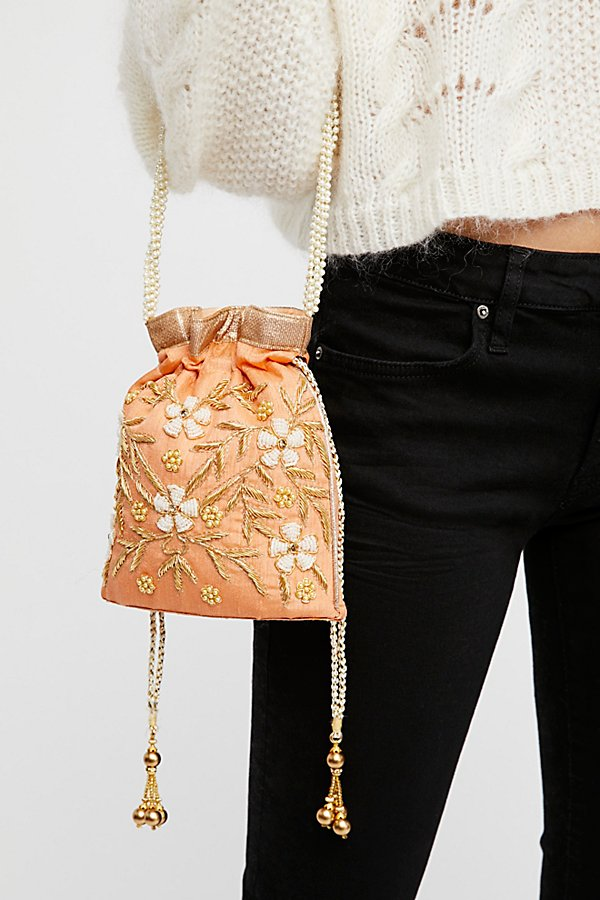 Slide View 1: Bouquet Embellished Clutch