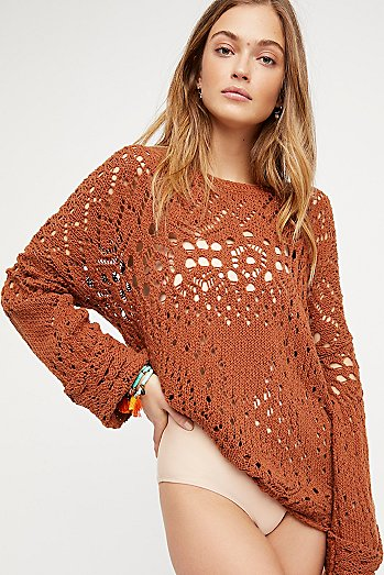 Traveling Lace Jumper