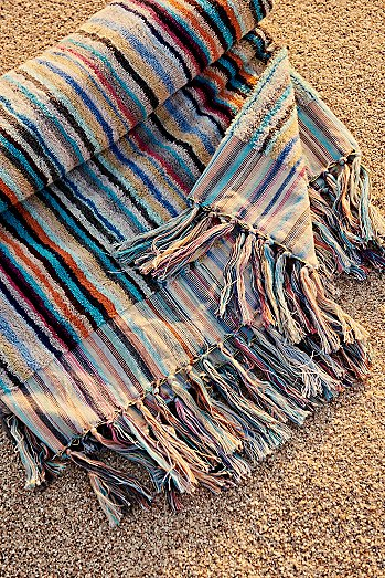 Lucky Stripe Beach Towel