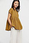 Thumbnail View 1: Your Girl Pleated Blouse