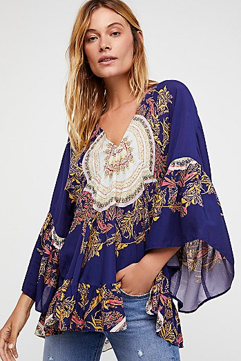 Sunset Dreams Printed Tunic