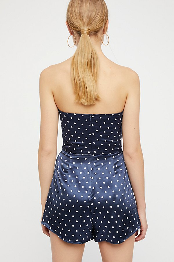 Slide View 2: Polka Dot One Piece