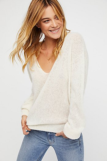Gossamer V-Neck Sweater