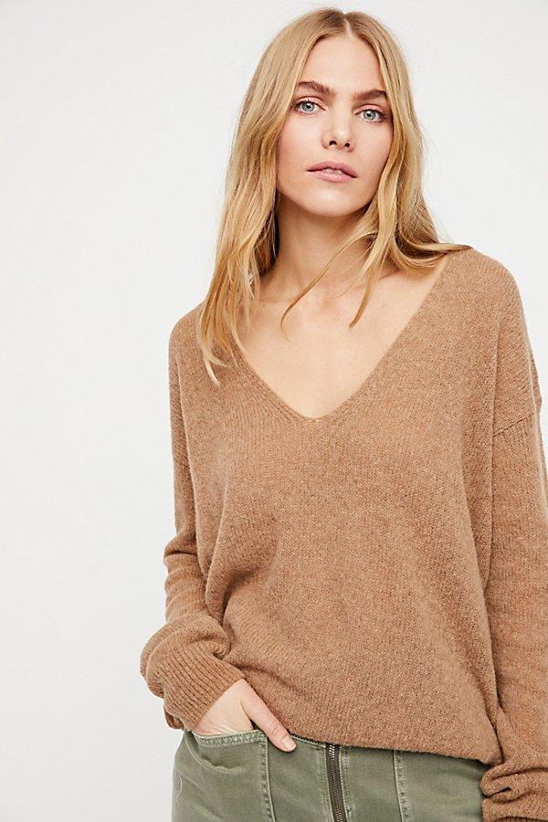Gossamer V-Neck Sweater  by Free People