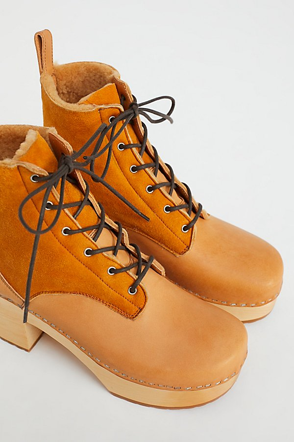 Slide View 3: Hippie Lace-Up Clog Boot