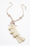 Thumbnail View 2: Tiered Tassel Crystal Pendant