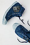 Thumbnail View 1: Hand-Dyed Indigo Patch Tennis Shoes