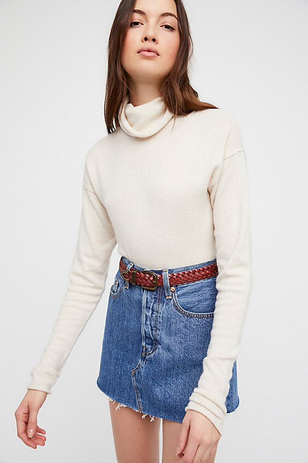 Slide View 1: Cashmere Turtleneck Jumper