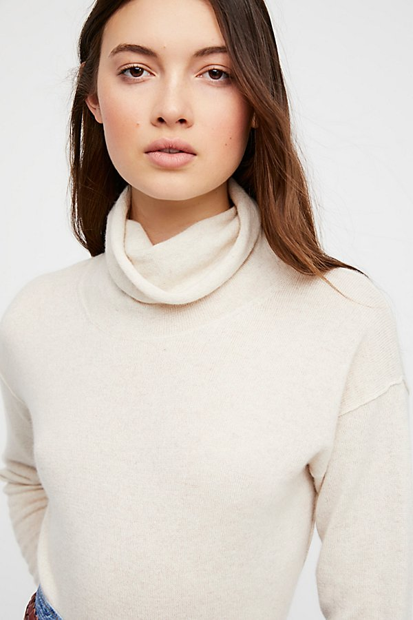Slide View 3: Cashmere Turtleneck Jumper