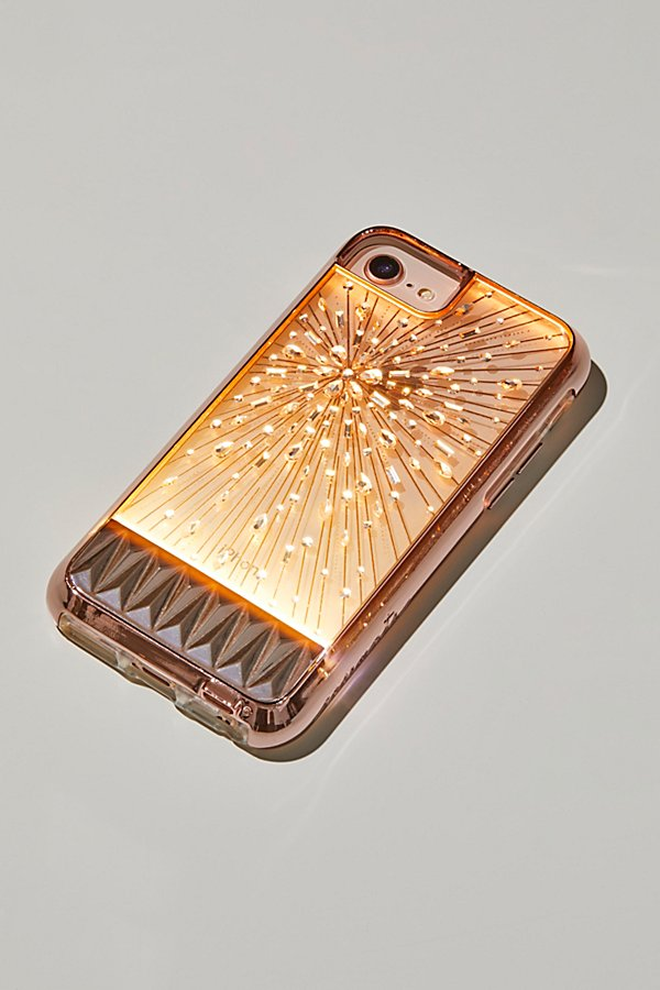 Slide View 1: Light Up Crystal iPhone Case