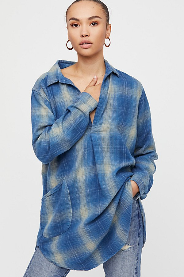 Slide View 1: Ash Flannel Tunic