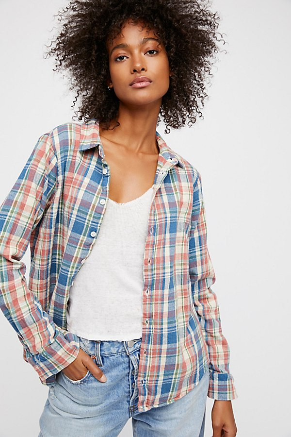 Slide View 2: Sasha Flannel Buttondown