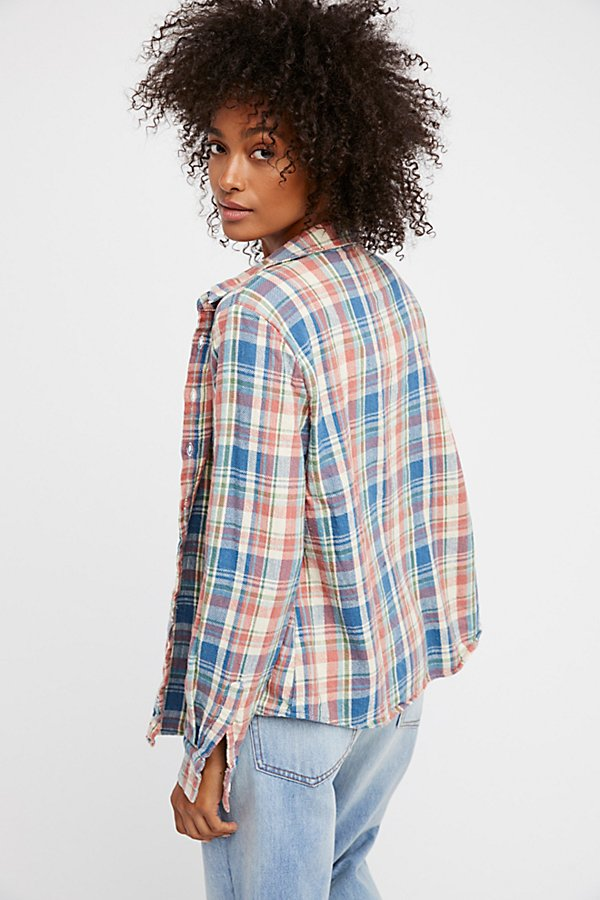 Slide View 3: Sasha Flannel Buttondown