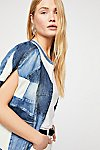 Thumbnail View 3: Piece Of Me Patchwork Denim Poncho