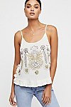 Thumbnail View 1: Bumble Bri Embroidered Tank Top