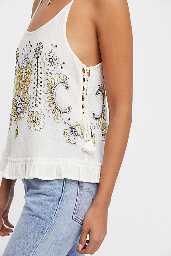 Slide View 2: Bumble Bri Embroidered Tank Top