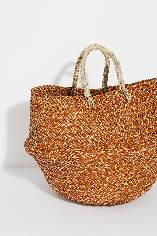Slide View 3: Sundown Straw Basket
