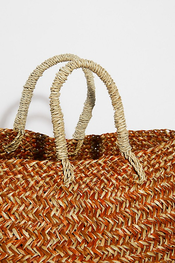 Slide View 5: Sundown Straw Basket