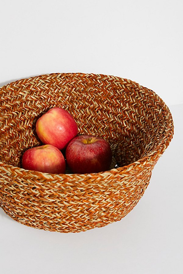 Slide View 6: Sundown Straw Basket