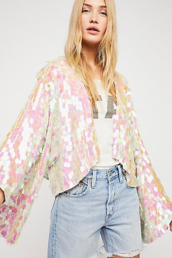 Aquarius Sequin Jacket