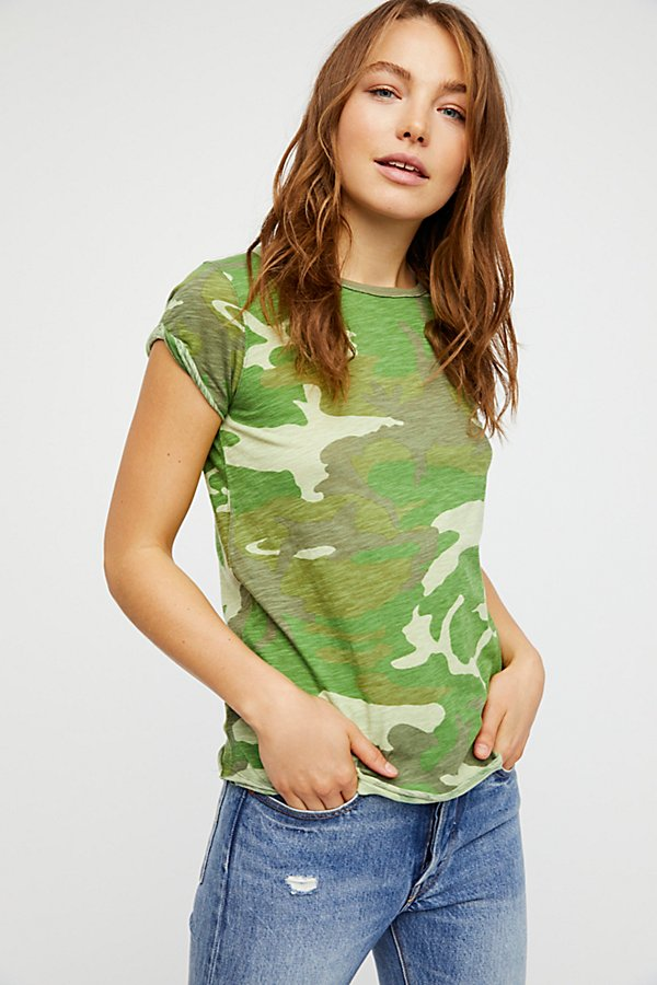 Slide View 1: We The Free Camo Clare Tee