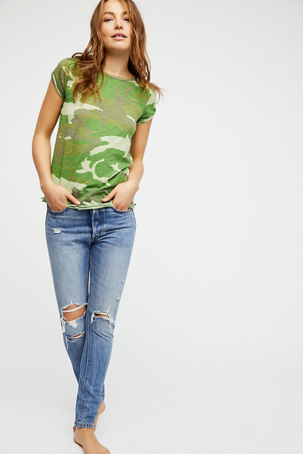 Slide View 3: We The Free Camo Clare Tee