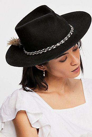 Morrisey Distressed Felt Hat