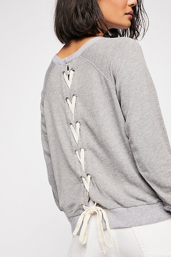 Slide View 1: All Laced Up Sweatshirt