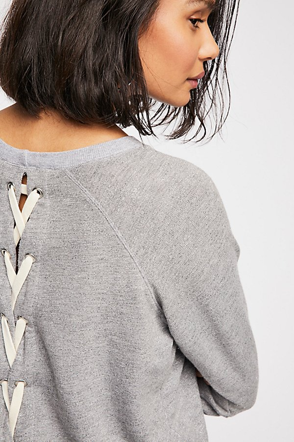 Slide View 2: All Laced Up Sweatshirt