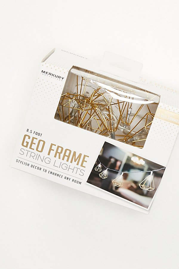 Slide View 4: Shine On Geo Frame String Lights