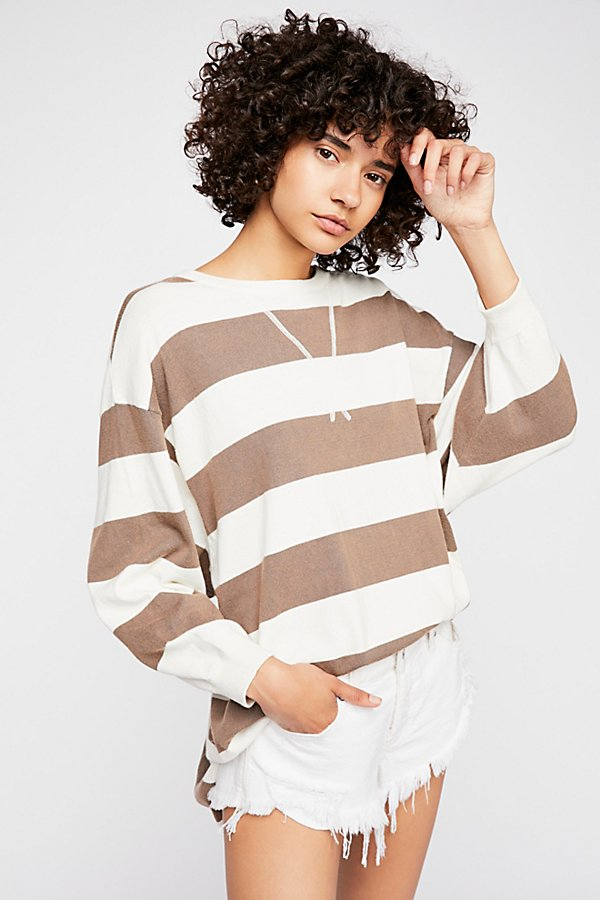Slide View 1: Surfin' On Your Stripes Jumper