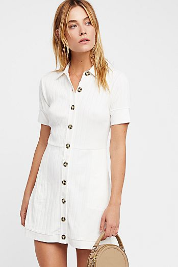 white dresses little white dresses free people