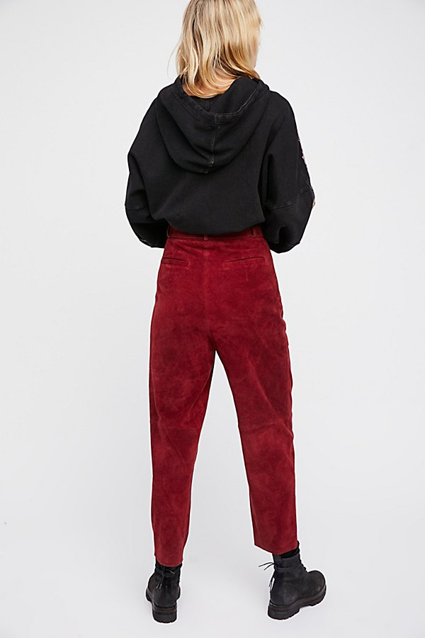 Slide View 2: Sundown Suede Pant