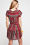 Thumbnail View 2: FP One Maia Striped Wrap Mini Dress