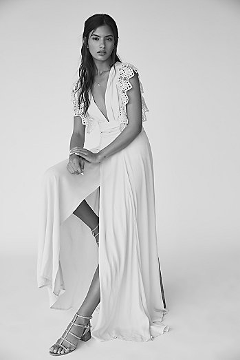 Poppy Wrap Maxi Dress