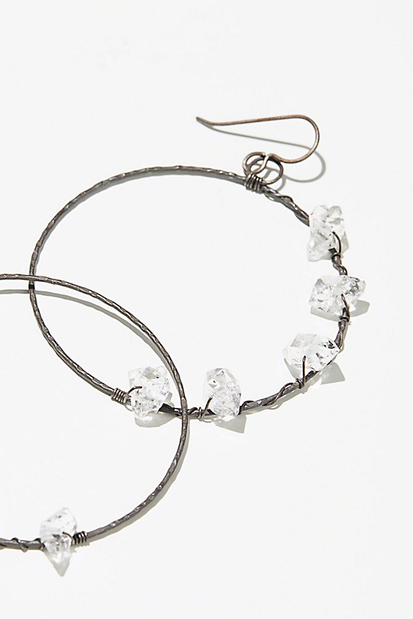 Slide View 1: Herkimer Diamond Hoops