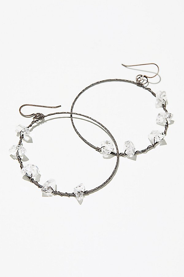 Slide View 2: Herkimer Diamond Hoops