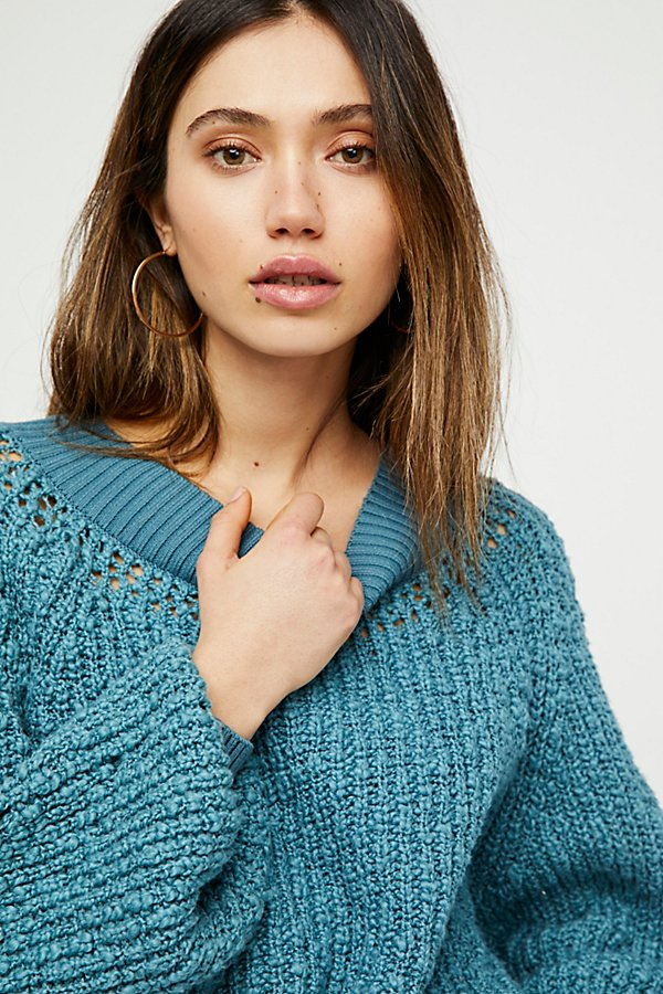 Slide View 3: Pandora's Boatneck Sweater