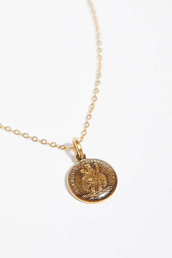 Slide View 2: St. Christopher Necklace