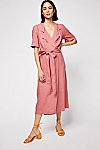 Thumbnail View 2: Klara Wrap Midi Dress