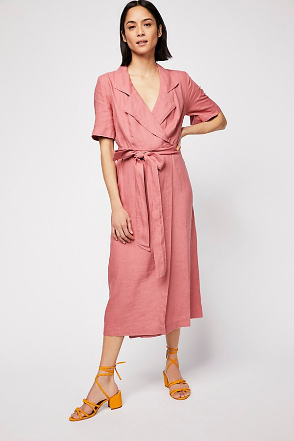 Slide View 2: Klara Wrap Midi Dress