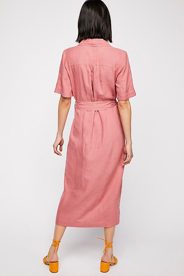 Slide View 3: Klara Wrap Midi Dress